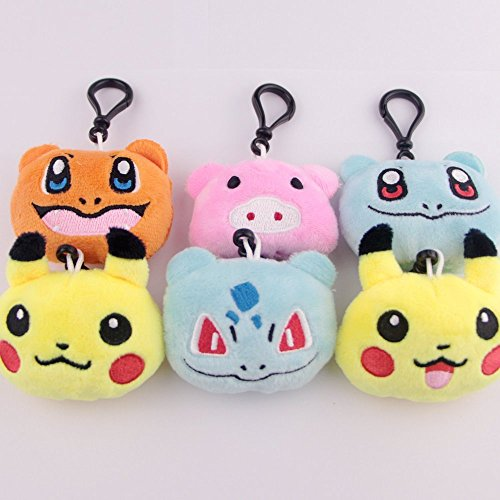 Swity Home 36 Pack Mini Emoji Plush Toy, Emoticon Toy, Mini Keychain Decorations, For Party Decoration, Party Supplies Favors, Set of 36 by Swity Home (Image #2)