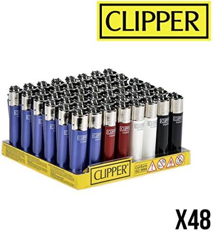 Clipper No 16, Crystal 4, minicolección, Pack de 4 Encendedores: Amazon.es: Hogar