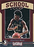 2017-18 Panini Contenders Drafts Picks School Colors #9 Jonathan Isaac Florida State Seminoles Rookie Basketball Card