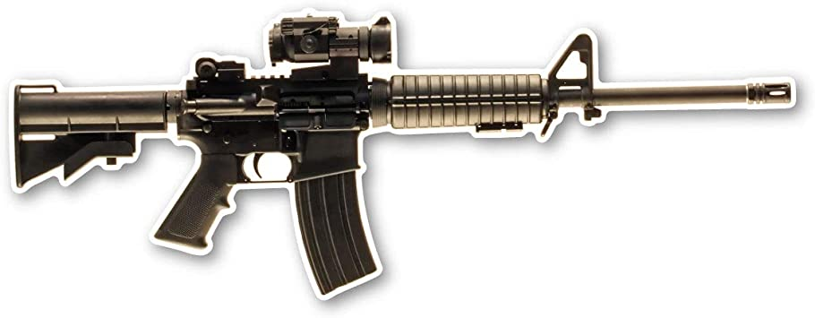 AR-15 Assault Rifle Magnet