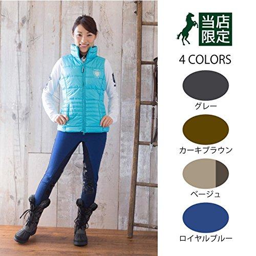 Pantalón de equitación para mujer Covalliero Guzet15 Azul - Winterblue