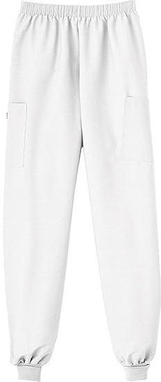 aea267f3974 Amazon.com: White Swan Nursing Uniform Cuff Scrub Pant (White, X ...