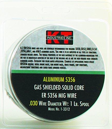K-T Industries 1-3312 1 lb Aluminum 5356 030 Mig Wire