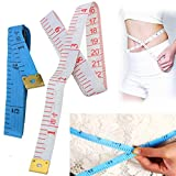 150cm PP Plastic Two-sided Soft Tape Measure DIY Sewing Tailor Measuring ...