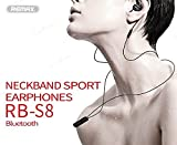 Best REMAX Bluetooth Headset For Musics - Remax S8 Wireless noise cancelling bluetooth phones stereo Review