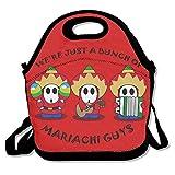 SuperWW Super Mario Shy Guy Lunch Bag Tote Handbag