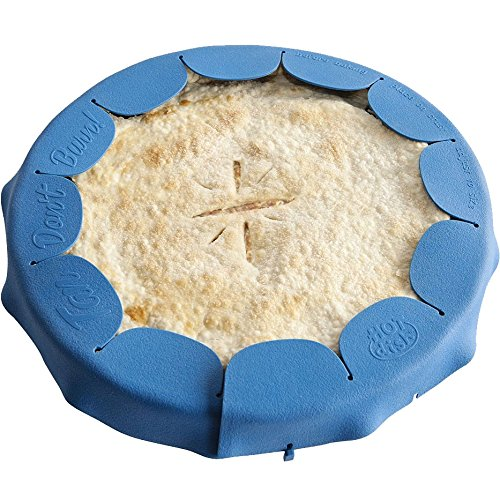 HomyDelight Silicone Pie Crust Shield 3.5 lbs 8 inch - 11.5 inch 1