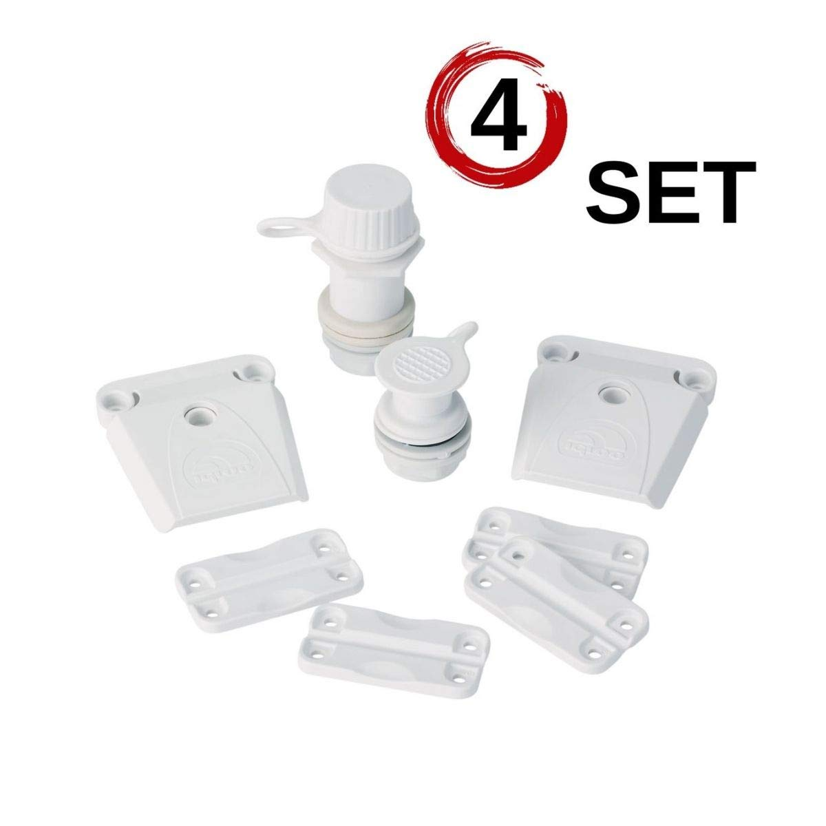Igloo Parts Kit for Ice Chests (4 Set)
