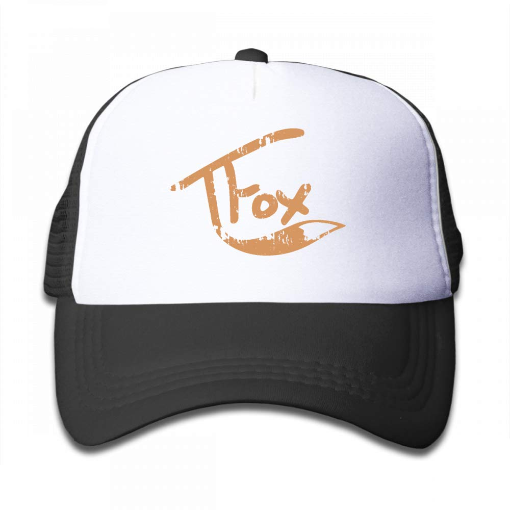 Kid's Boys Girls Tanner Fox Youth Mesh Baseball Cap Summer Adjustable Trucker Hat