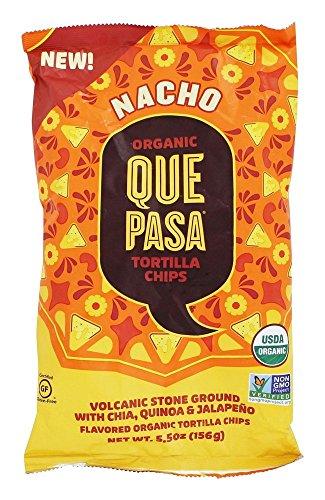 Que Pasa Chips Tortilla Nacho, 5.5 oz