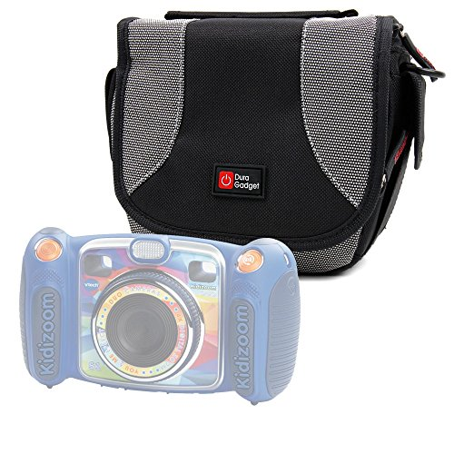 Padded Camera Bag / Case With Shoulder Strap and Zip Pockets