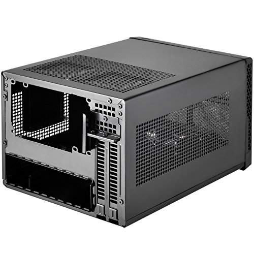 Silverstone Technology Ultra Compact Mini-ITX Computer Case with Mesh Front Panel in Black SG13B by SilverStone Technology (Image #2)