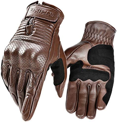 Inbike Ziegenleder Motorradhandschuhe Motorrad Schutz Handschuhe Mit Harter Schutzhülle Professionelle Motorradschutzhandschuhe Im805 Bekleidung