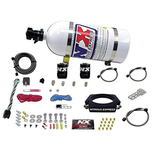 Nitrous Express 20933-10 GM LS Plate System w/10 lb. Bottle/Brackets 102mm 50-400 HP GM LS Plate System