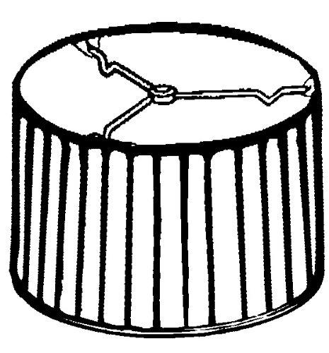 Royal Designs Shallow Drum Side Pleat Basic Lamp Shade, Black, 17 x 18 x 11.5