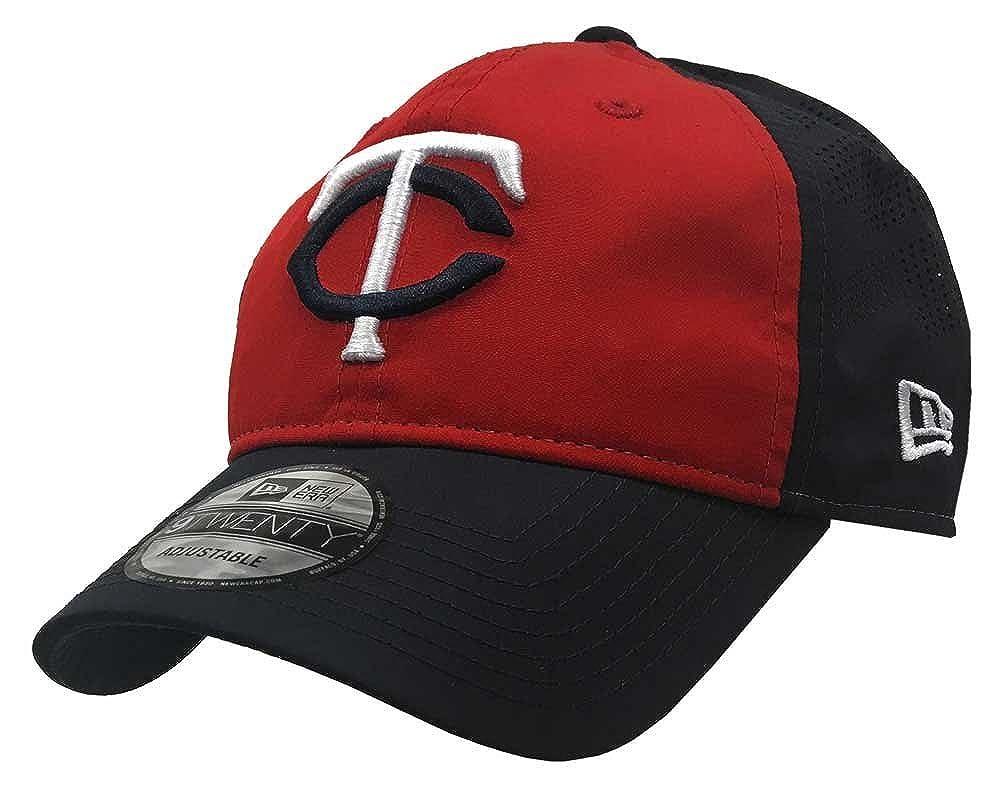 New Era MLB Minnesota Twins Road Batting Practice Baseball Hat 9Twenty Cap Navy 11571142