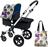 Bugaboo Cameleon3 Accessory Pack - Andy Warhol Transport/Royal Blue (Special Edition)
