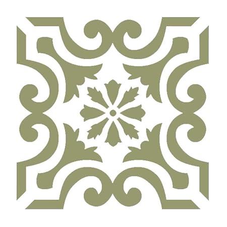 Wall Stencils Damask Tile Stencil for Home Makeover DIY Decor ...