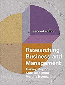 Book Researching Business and Management