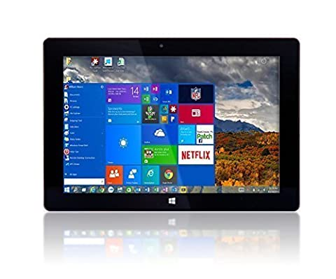 10'' Windows 10 by Fusion5 Ultra Slim Design Windows Tablet PC - 32GB Storage, 2GB RAM - Complete with Touch Screen, Dual Camera, Bluetooth Tablet (Tablet Computers)