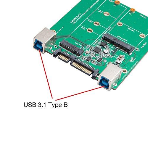 Syba 2.5-inch SATA to mSATA SSD Adapter, Use as External USB 2.0 Storage Device (SD-ADA40077) by Syba (Image #7)