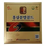 Pocheon 300g Korean Red Ginseng Roots Powder Gold 6 Years, No Additives 100% Pure, High Ginsenoside Panax