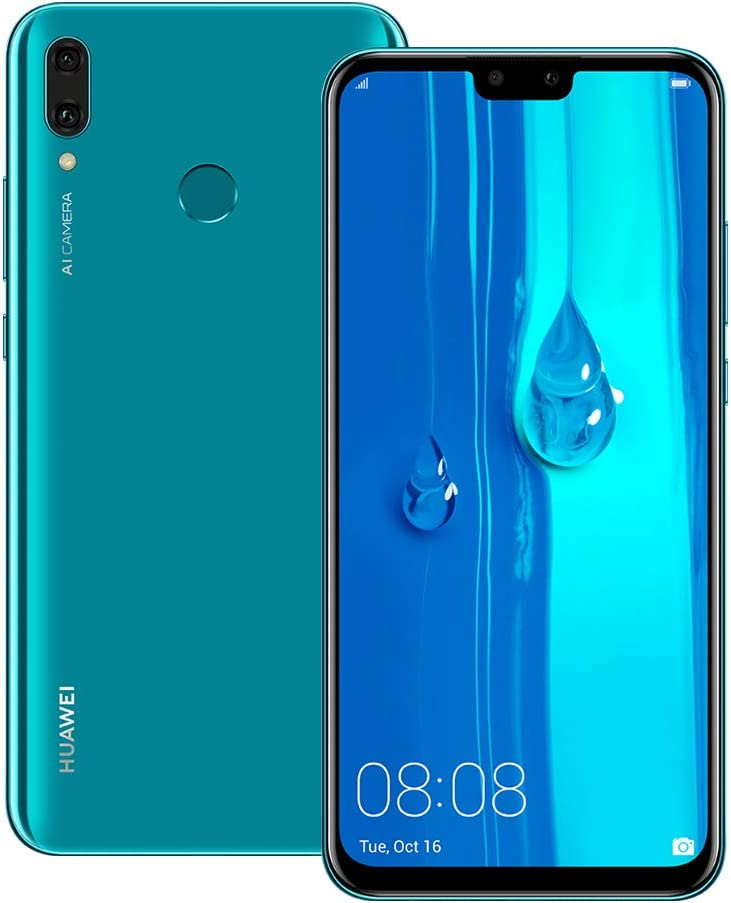 Amazon Com Huawei Y9 2019 Jkm Lx2 4gb 64gb 6 5 Inches Dual