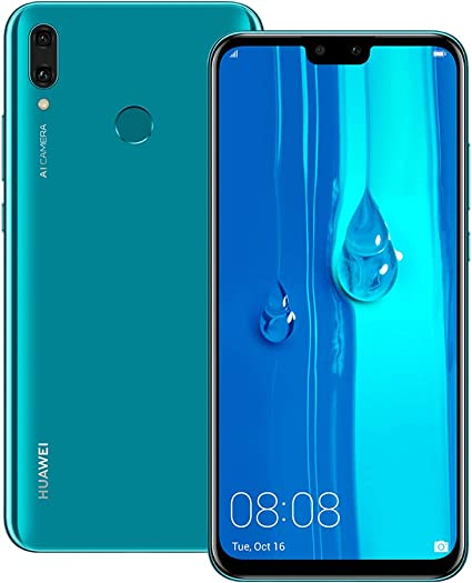 Amazon.com: Huawei Y9 2019 (JKM-LX2) 4GB / 64GB 6.5-inch ...