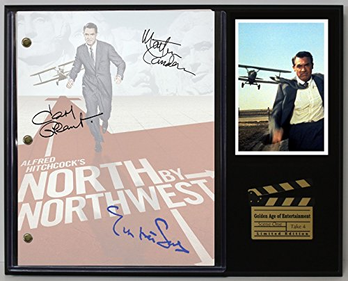NORTH BY NORTHWEST LTD EDITION REPRODUCTION MOVIE SCRIPT CINEMA DISPLAY - Outlet North