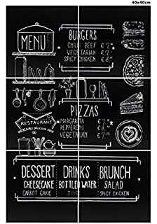 Scribble Large Frameless Chalkboard (16 x 16 Inches,) Pack of 6