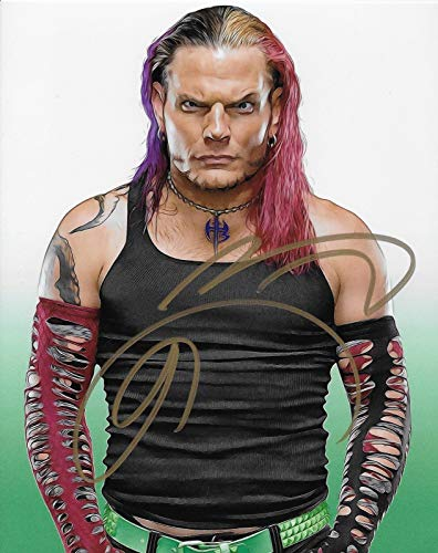 Jeff Hardy Wwe Tna Charismatic Enigma Signed Autograph 8x10 Photo #7 - Autographed Wrestling Photos
