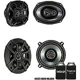 Kicker Dodge Ram 1994-2011 Truck Speaker Bundle 43CSC6934 6x9, 43CSC54 5.25 inch Speakers