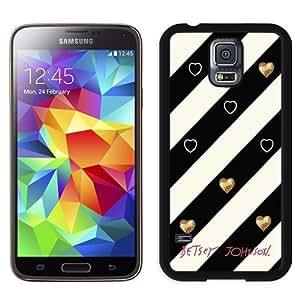 Fashionable Betsey Johnson 07 Galaxy S5 Generation Phone Case in Black