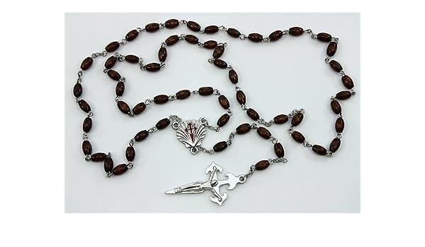 ROSARIO Cruz Cristo y medallones símbolo de SANTIAGO DE ...