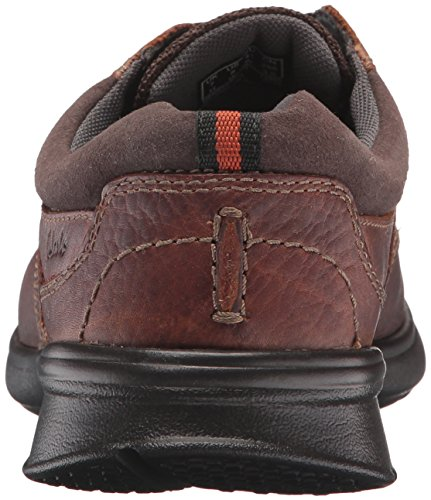 Clarks Mens Cotrell Edge Oxford Tobacco Oleoso
