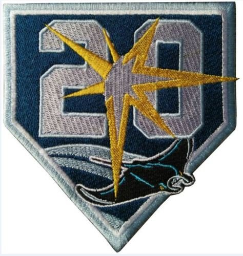 Baseball RAYS PATCH 20TH ANNIVERSARY PATCH TEAM STYLE JERSEY WORLD SERIES CHAMPIONSTHIS IS A PRE-ORDER ITEM - SHIPPING BEGINS ON APRIL 27, 2018. 20th Anniversary Patch