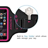 iPhone 6S/7/8 Armband, JEMACHE Fingerprint Touch
