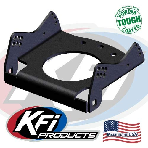 (KFI Products Black UTV Replacement Plow Cradle for KFI UTV Push Tubes 105639-R)