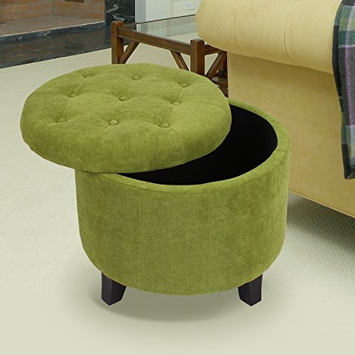 Heredeco Folding Storage Ottoman Bench Large Sofa Foot