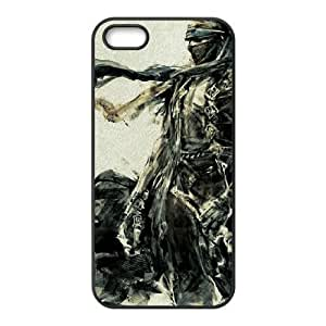 HD Beautiful image for iPhone 5 5s Cell Phone Case Black prince of persia drawing 10714 HOR8273558