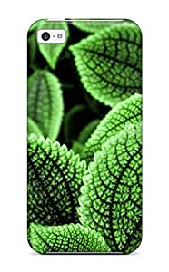 Diy Yourself Beautiful Green Leaves case cover Compatible With iPhone 5 5s 097EEuOjEXI 5 5s/ Hot protective case cover