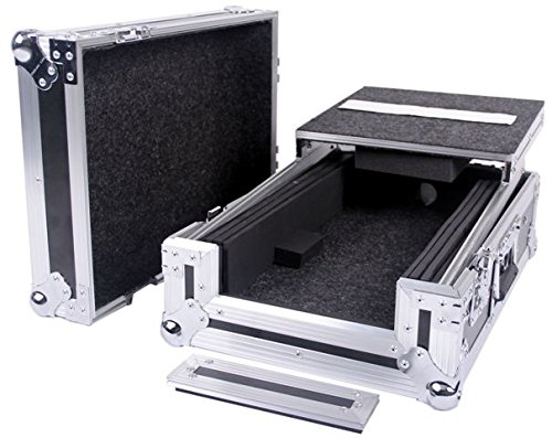 DEEJAY LED TBHDJMS9LT Fly Drive Case For Pioneer DJM-S9 Mixer with Laptop Shelf by Deejay LED