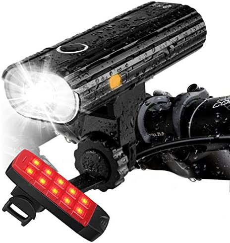 Te Rich Rechargeable Bike Lights Front product image