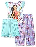 Disney Girls' Elena of Avalor 3-Piece Pajama