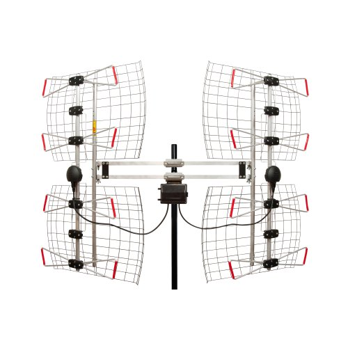 8 Element Bowtie Indoor/Outdoor HDTV Antenna - 70 Mile Range