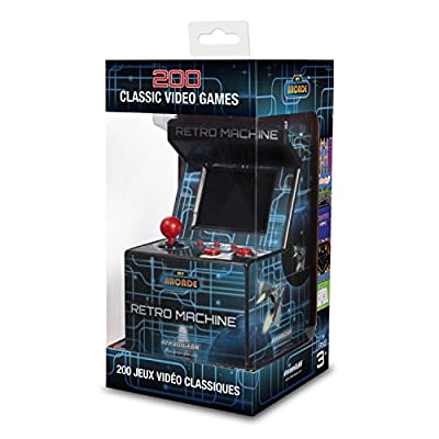 My Arcade Retro Machine Handheld Gaming System with 200 Built-in Video Games