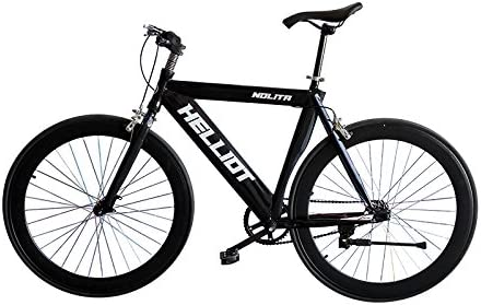 Bicicleta fixie para ciudad, City Bike, Fixed, Plato, bielas y ...