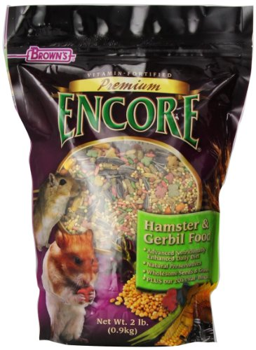 Encore Hamster (F.M. Brown's Encore Premium Hamster and Gerbil Pet Food, 2-Pound)