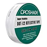 Best Reflective Tapes - DOT-C2 White Reflective Tape, Reflector Conspicuity Tape Stickers Review