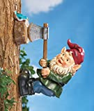 Wood Chopping Tree Gnome Decoration For Sale